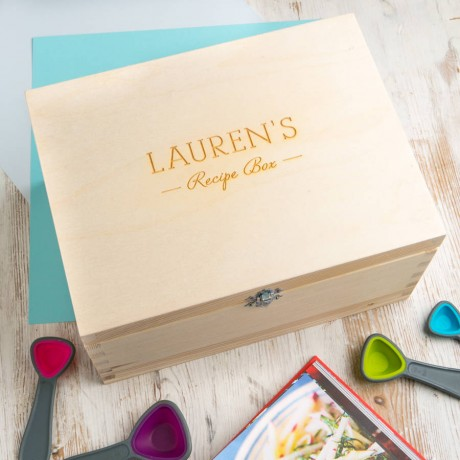 Personalised Recipe Box