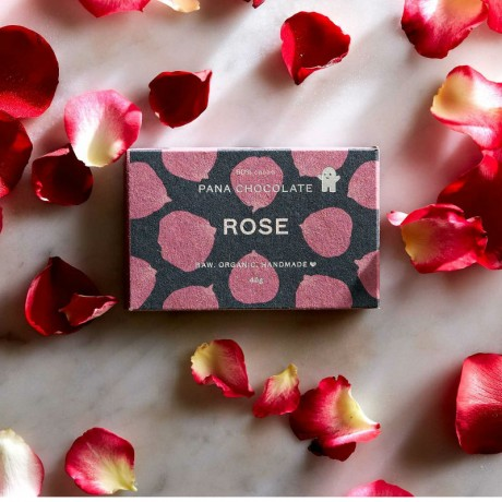 Raw Rose Chocolate Bars (3 pack)