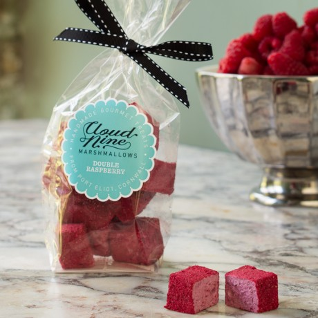 Double Raspberry Marshmallows