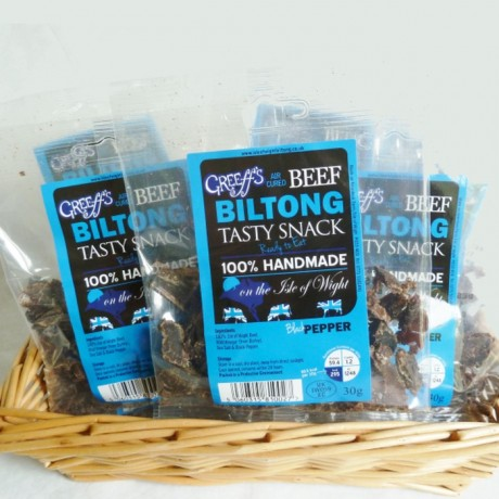 Greeff's Black Pepper Biltong