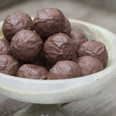 Sea Salted Caramel Truffles