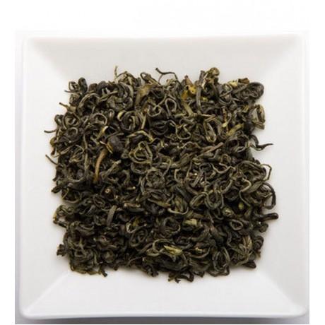 Wild Green Tea (Elegant Glass Canister)