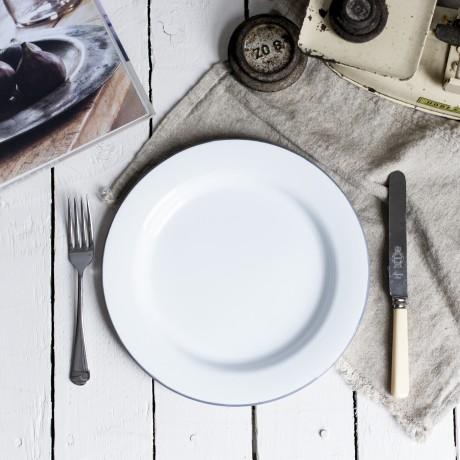 enamel dinner plate