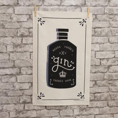 Gin Tea Towel