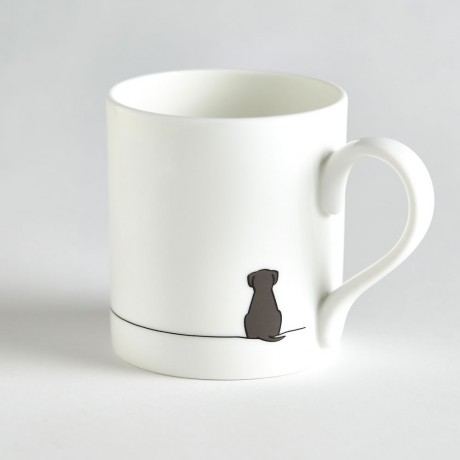 Sitting Dog Mug