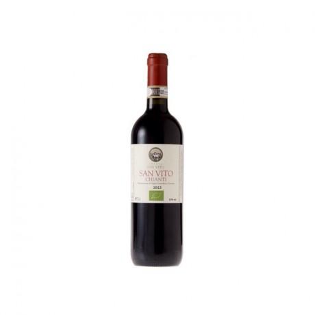 6 Bottles Chianti San Vito DOCG Organic Red Wine