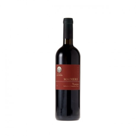 6 Bottles Toscana Madiere IGT Organic Red Wine
