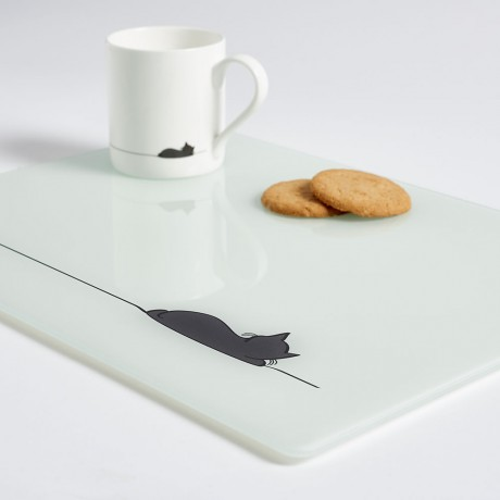 Sleeping Cat Worktop Saver Multi Uses
