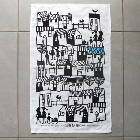 Village Tea Towel