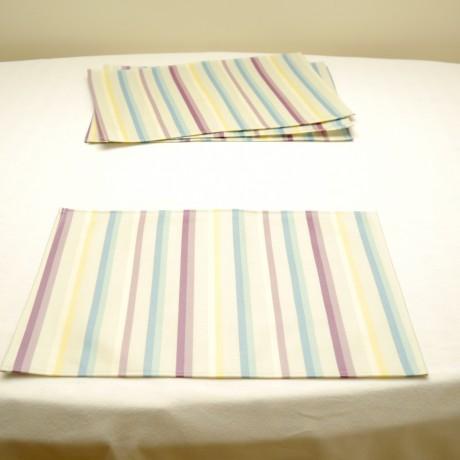 Amalfi Wipe Clean Placemat Set