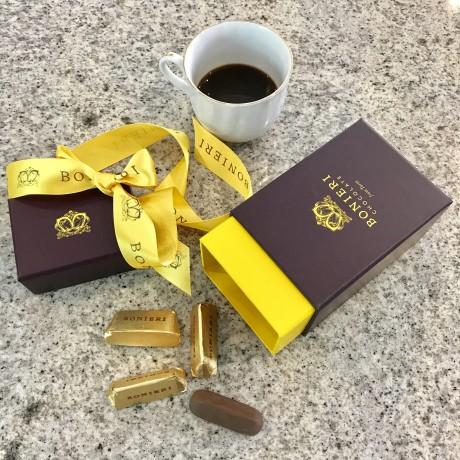 Gold Gianduiotti hazelnut praline