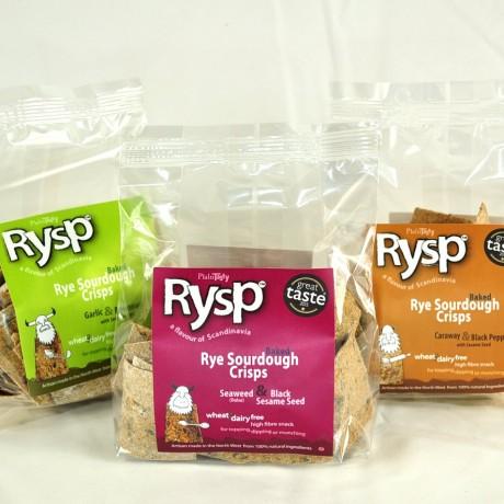 Rye Sourdough Crisps Variety Pack