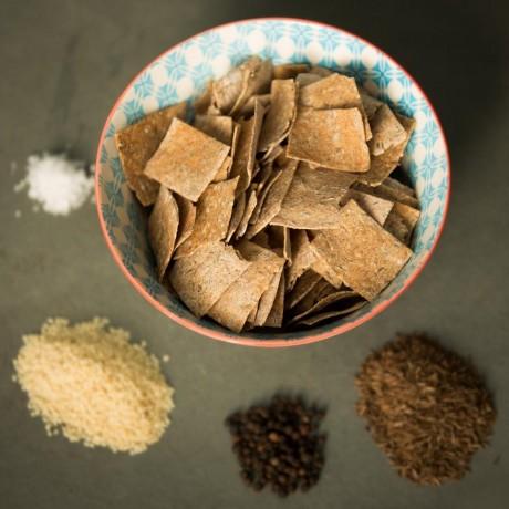 Caraway and Black Pepper Rysp - ingredients