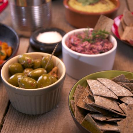 Platter including Seaweed (dulse) and Black Sesame Seed Rysp