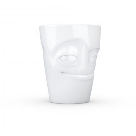 White 'Impish' Coffee Mug