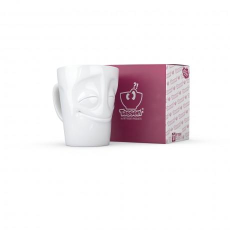 Cheery White Porcelain Mug