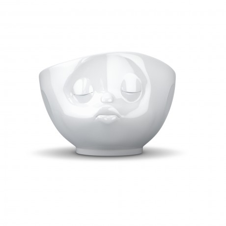 'Kissing' Bowl in White Porcelain