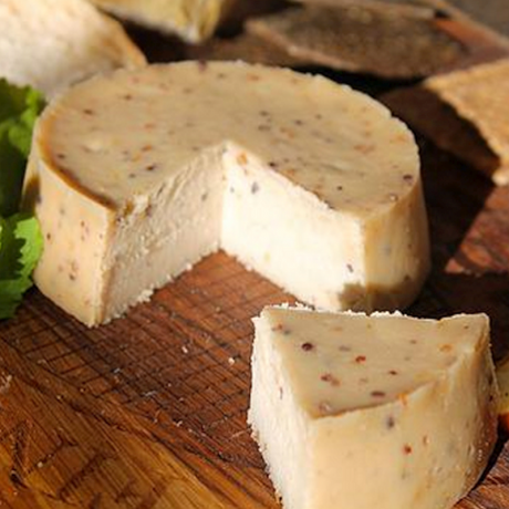 Mustard Cashew Nut Vegan Cheese