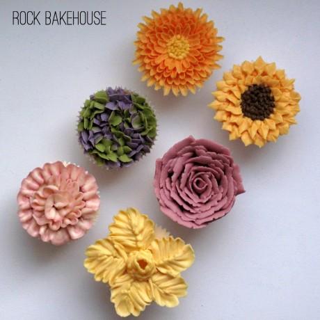Buttercream Flowers Class