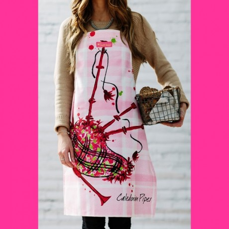 Caledonian Pipes Cooks Apron