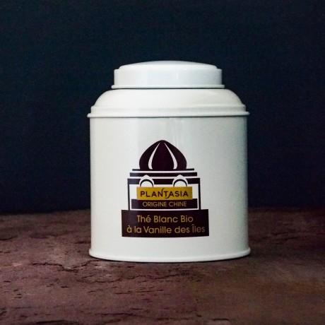 Organic White Tea with Vanilla – Loose Leaf