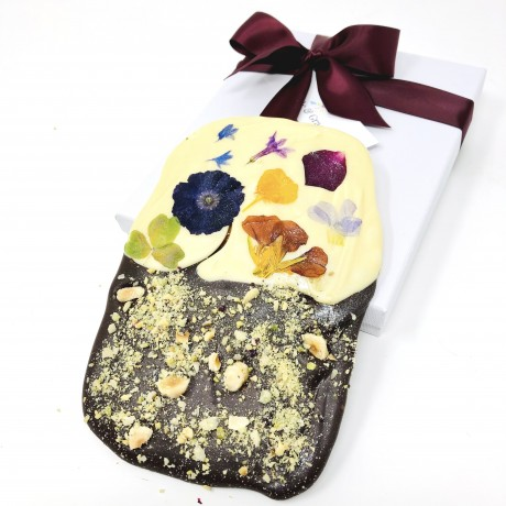 Floral chocolate