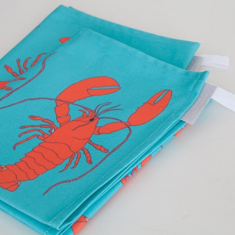 Pair of Lobster Tea Towels