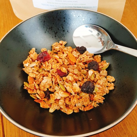 A delicious bowl of Original TrooGranola