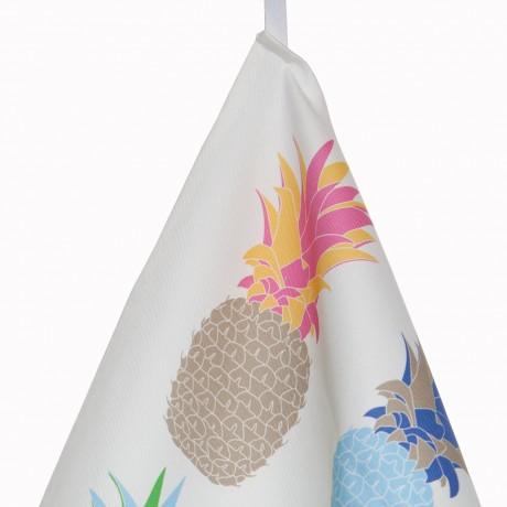 Pineapple Tea Towel Close Up
