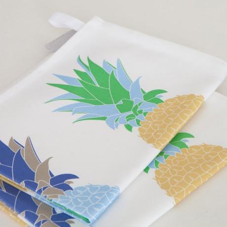 Pair of Pineapple Tea Towels