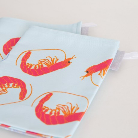 Pair of Prawn Tea Towels