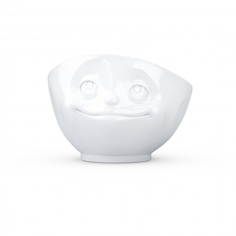 White Porcelain Fun Bowl by Tassen at Lovely Lane Gifts