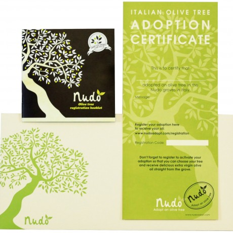 Adoption certificate and booklet