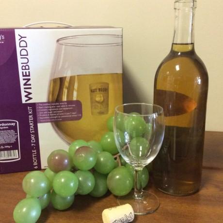Wine buddy Chardonnay starter kit