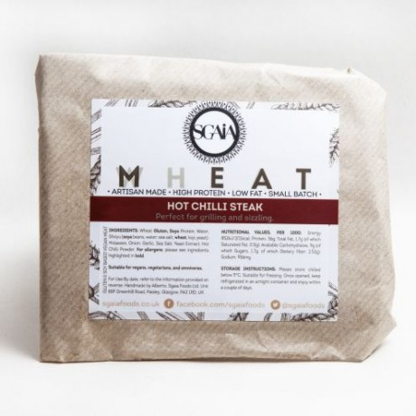 Hot Chilli Mheat Steak Multipack - Vegan Meat