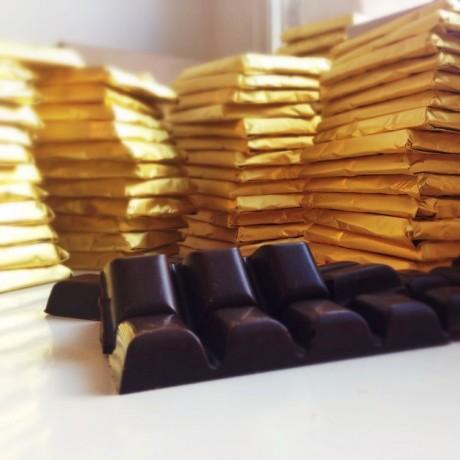 Minty caramel
