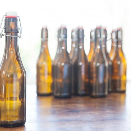 Easy swing-top bottles