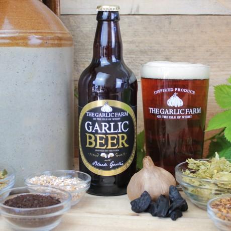 The Garlic Farm Black Garlic Beer & Snacks