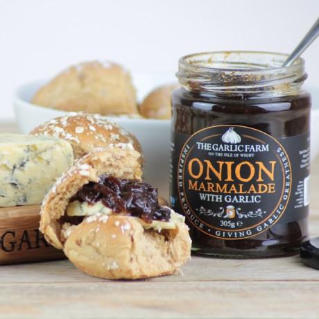 The Garlic Farm Chutney & Condiment Selection - Onion Marmalade