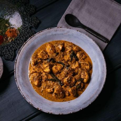 Authentic Indian Meal Kit - Malabar Prawn & Chicken Chettinad