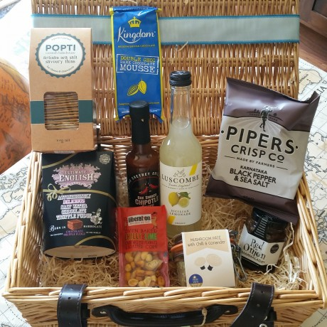 The best veggie hamper for dad