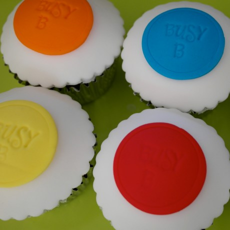 Personalised Message Disc Cupcake Gift Box