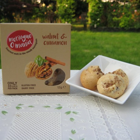 Walnut & Cinnamon Meringues - Small Box (12g)