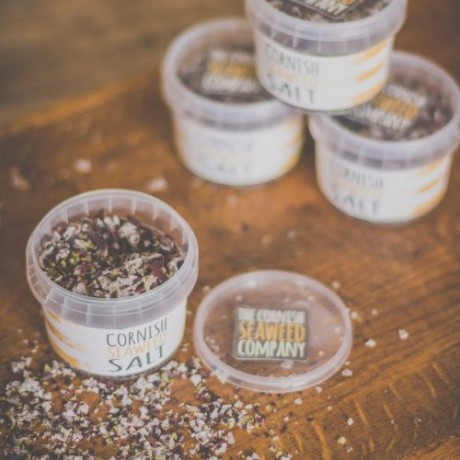3 Organic Seaweed Salt Tubs