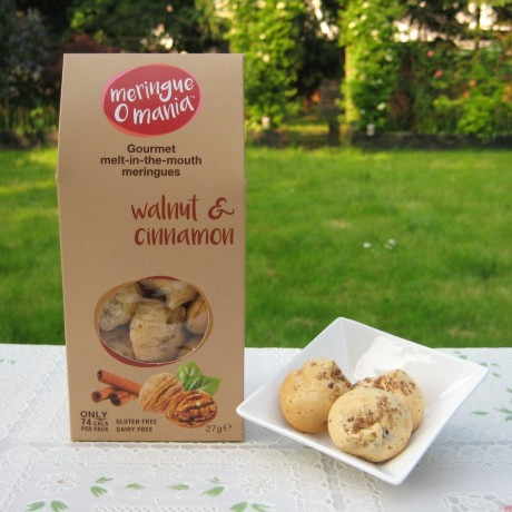 Walnut & Cinnamon Meringues - Largel Box (27g)