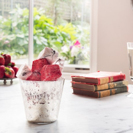 Champagne and Strawberries Marshmallows
