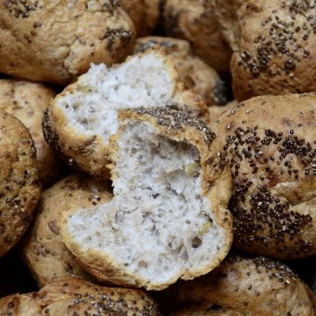 Bold Buckwheat Rolls
