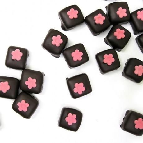 Artisanal Raspberry and Rose Truffles
