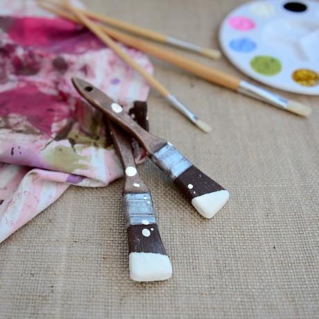 Chocolate Paint Brush