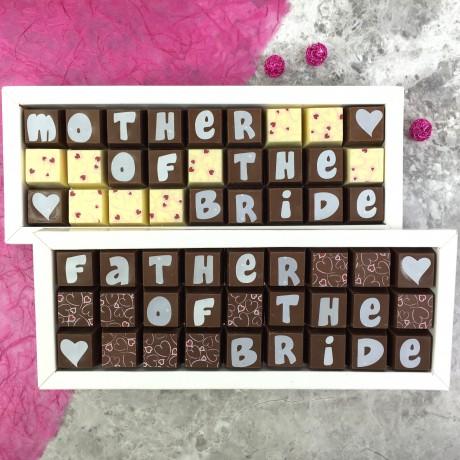 Personalised Chocolates For Weddings